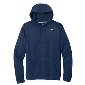 Nike Hoodie Sweatshirt Pullover Navy Blue M